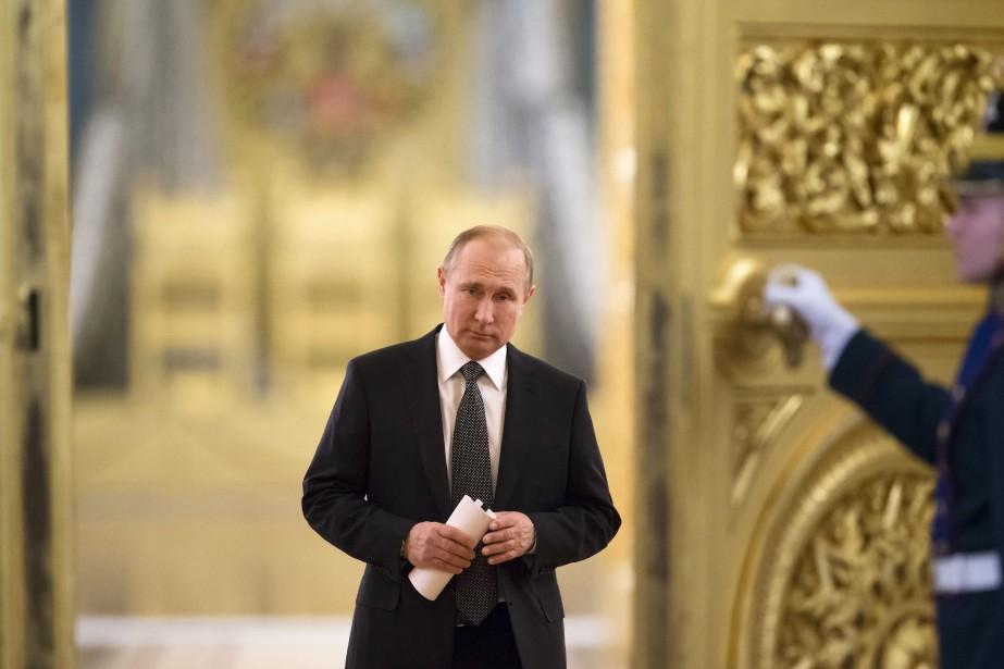 Le président russe a affirmé qu'une bonne entente... (Photo Alexander Zemlianichenko, archives Associated Press)