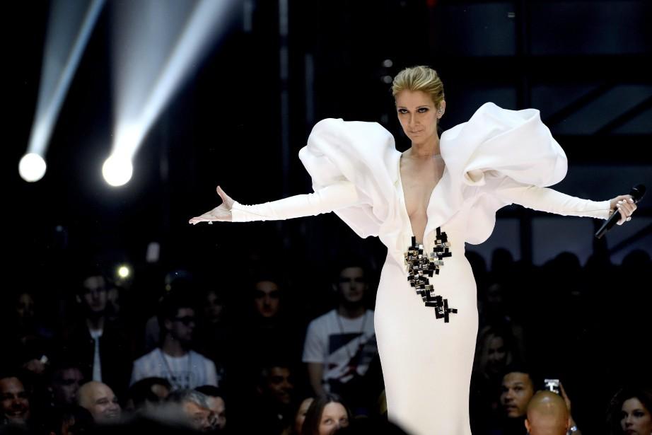 La diva québécoise CélineDion livrera une performance à... (Photo Chris Pizzello, La Presse canadienne)