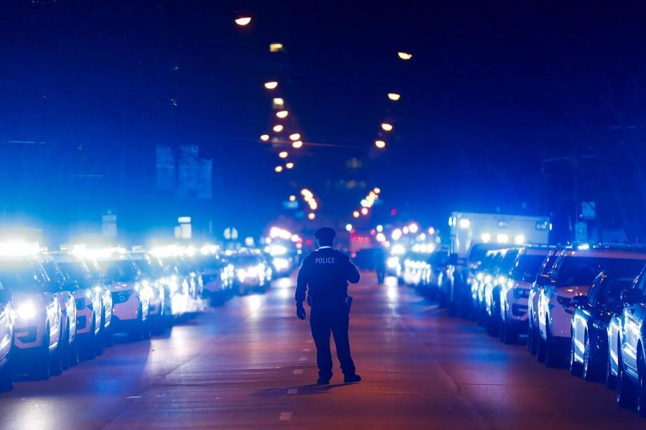 Le nombre de meurtres a diminué pour la deuxième... (Photo Jose M. Osorio, AP)