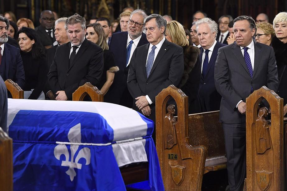 Cette photo a été prise lors des funérailles... (Photo Paul Chiasson, archives PC)