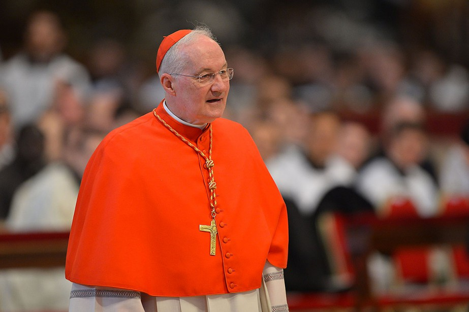 Le cardinal Marc Ouellet, lors d'une messe à... (Photo GABRIEL BOUYS GABRIEL BOUYS, archives AFP)