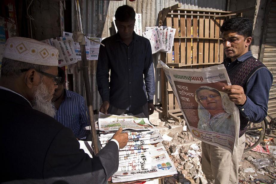 L'opposition du Parti nationaliste du Bangladesh (BNP) a... (Photo Anupam Nath, AP)