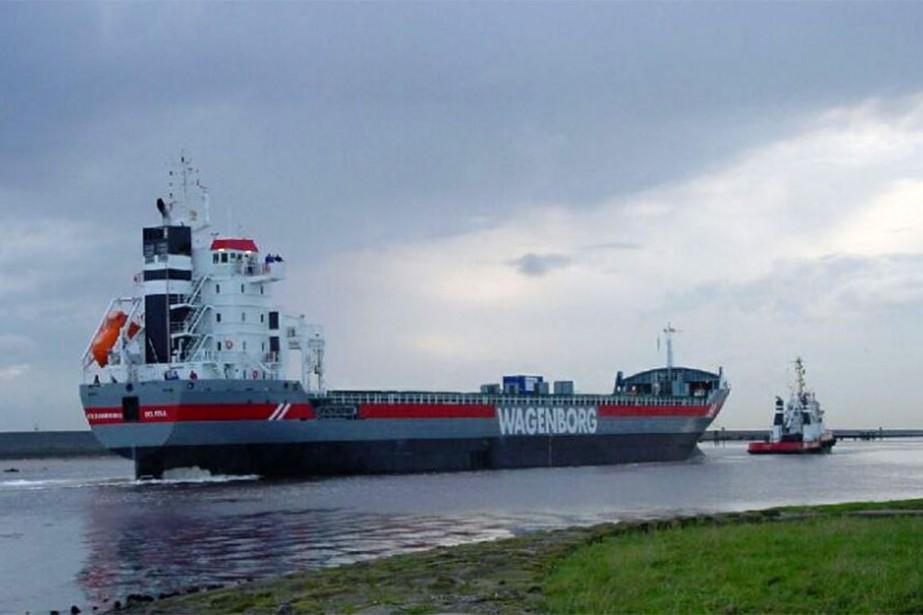Le Virginiaborg est un bateau de Wagenborg.... (Photo tirée du site wagenborg.com/our-equipment/fleetlist/virginiaborg)