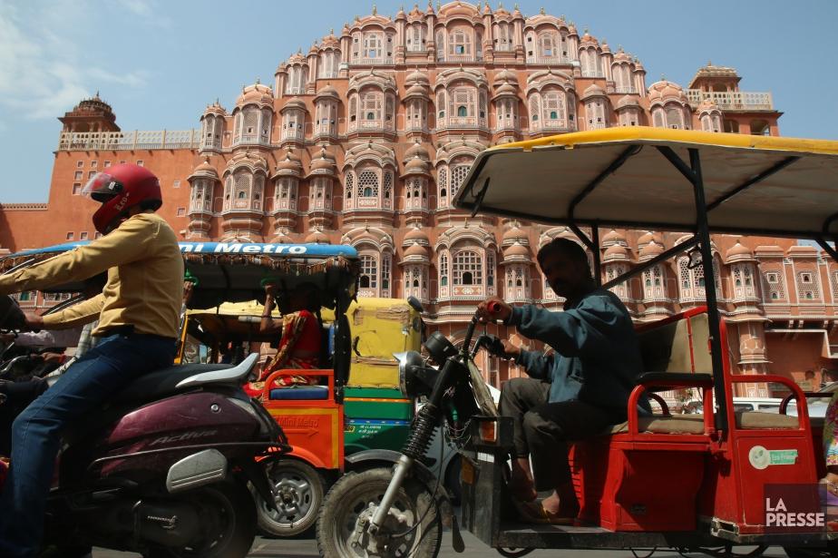 Jaipur forte de 3 millions d'habitants et de... (Photo Sylvain Sarrazin, archives La Presse)
