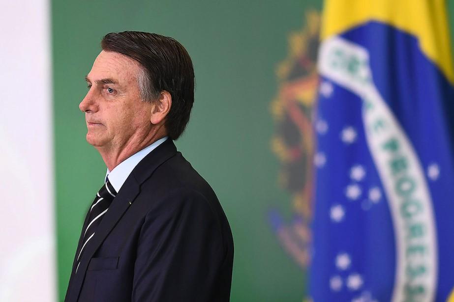 Jair Bolsonaro... (Photo EVARISTO SA, AFP)