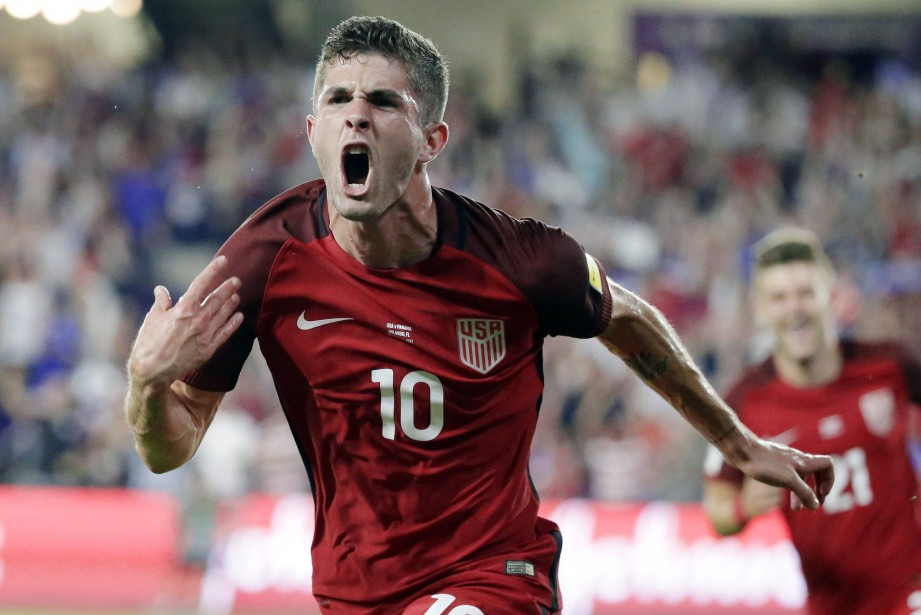 Christian Pulisic... (ARCHIVES AP)
