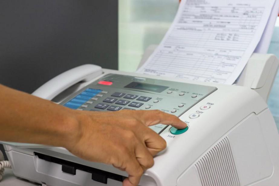 L'obligation d'utiliser un télécopieur en 2019 pour communiquer... (PHOTO GETTY IMAGES)