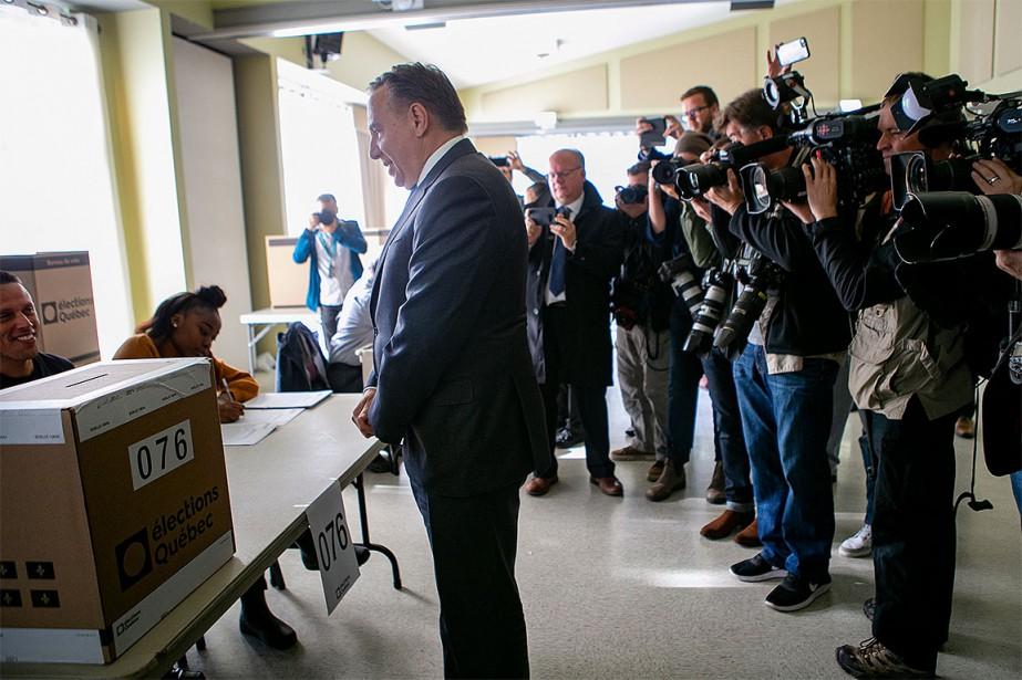 Le chef de la CAQ François Legault (aujourd'hui... (Photo David Boily, archives La Presse)