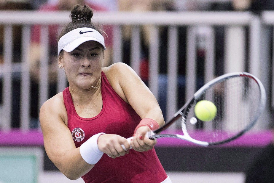 Bianca Andreescu... (Photo Graham Hughes, archives La Presse canadienne)