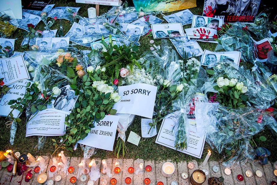 Louisa Vesterager Jespersen, une étudiante danoise de 24ans,... (Photo FADEL SENNA, archives AFP)