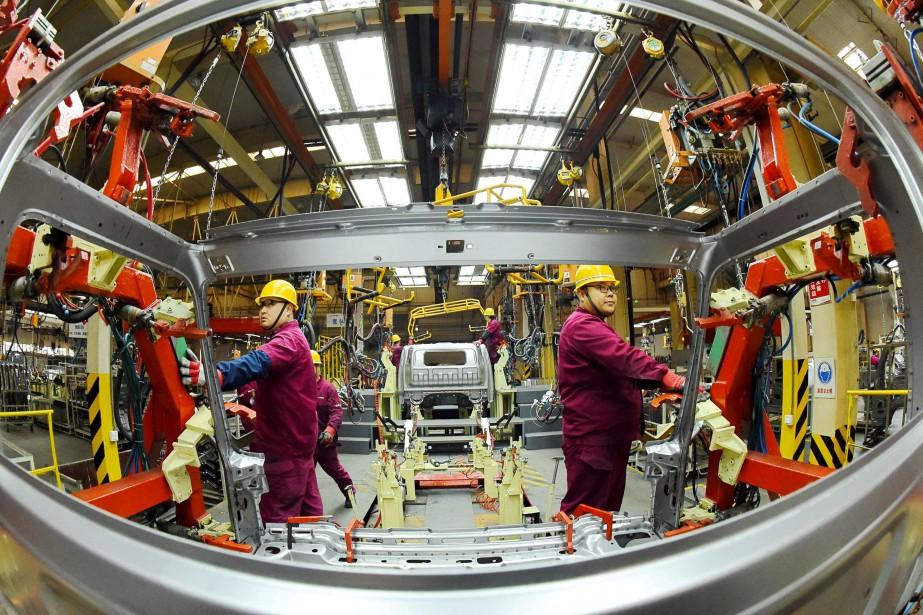 L'activité dans le secteur manufacturier aux... (Photo archives REUTERS)