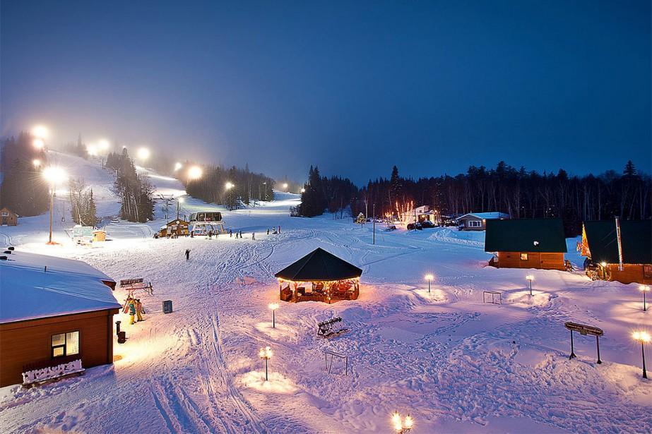 Le drame s'est produit au centre de ski... (Photo tirée du site internet www.montvideo.ca)