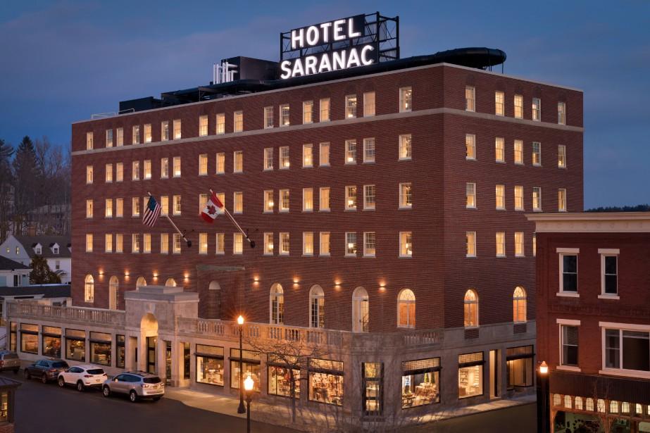 L'hotel Saranac... (photo fournie par l'Hotel Saranac)