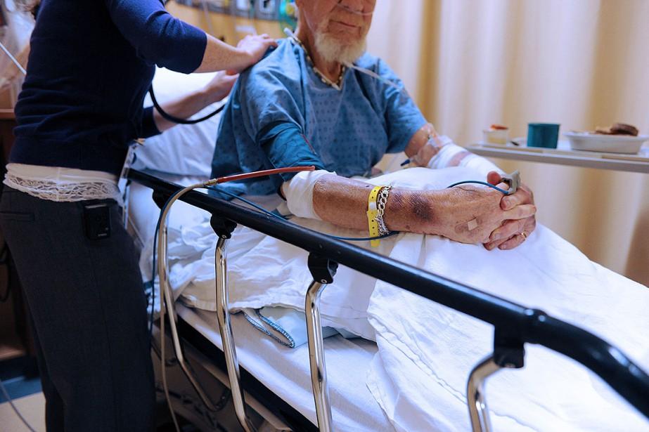 Parmi les six hôpitaux de la région de... (Photo Erick Labbe, archives Le Soleil)