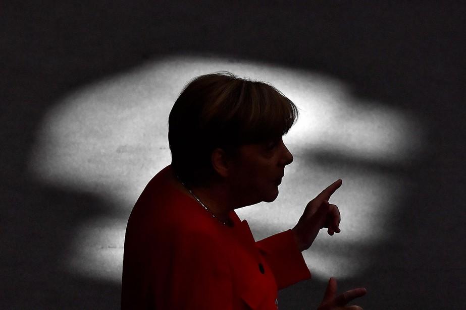 La chancelière allemande Angela Merkel est au nombre... (Photo JOHN MACDOUGALL, archives Agence France-Presse)