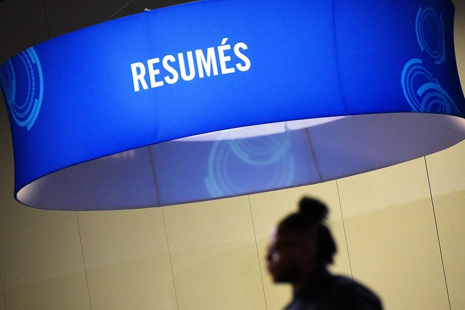 L'économie américaine a créé 312000nouveaux emplois nets, un... (Photo MANDEL NGAN, archives Agence France-Presse)