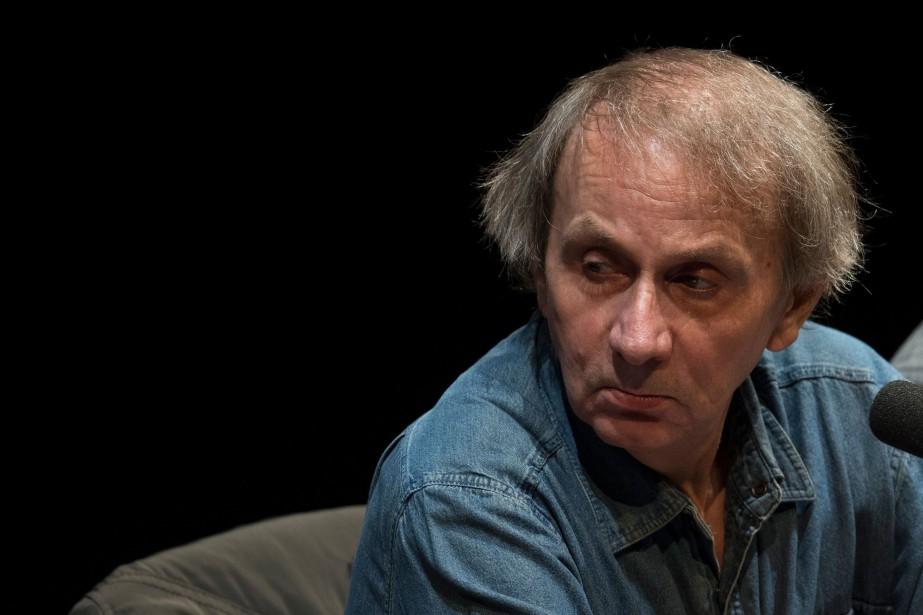 Le roman Sérotonine, de l'écrivain français Michel Houellebecq,... (Photo BORIS ROESSLER, archives AFP)
