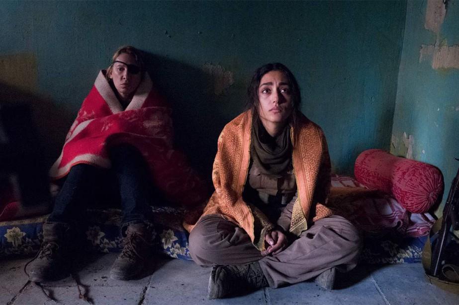 Emmanuelle Bercot et Golshifteh Farahani dans Les filles... (photo Wild Bunch)