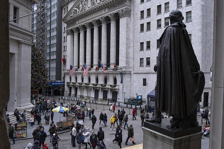 Wall Street a terminé en forte... (Photo Craig Ruttle, archives Associated Press)