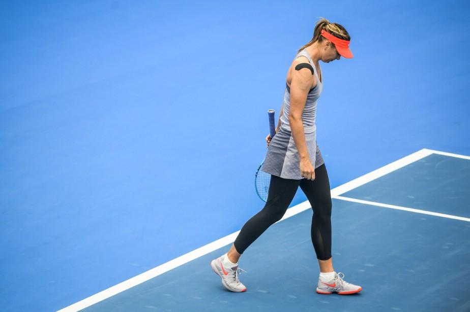 Maria Sharapova... (Photo STR, AFP)