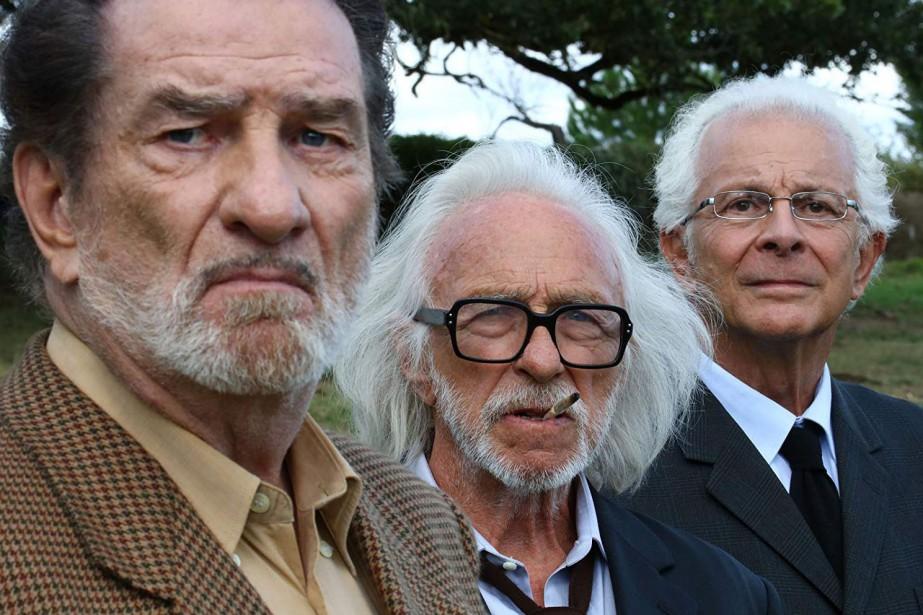 Photo MK2 | Mile End... (Eddy Mitchell, Pierre Richard et Roland Giraud dans  Les vieux fourneaux (2018).)