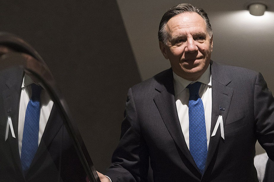 François Legault.... (Photo Graham Hughes, archives PC)