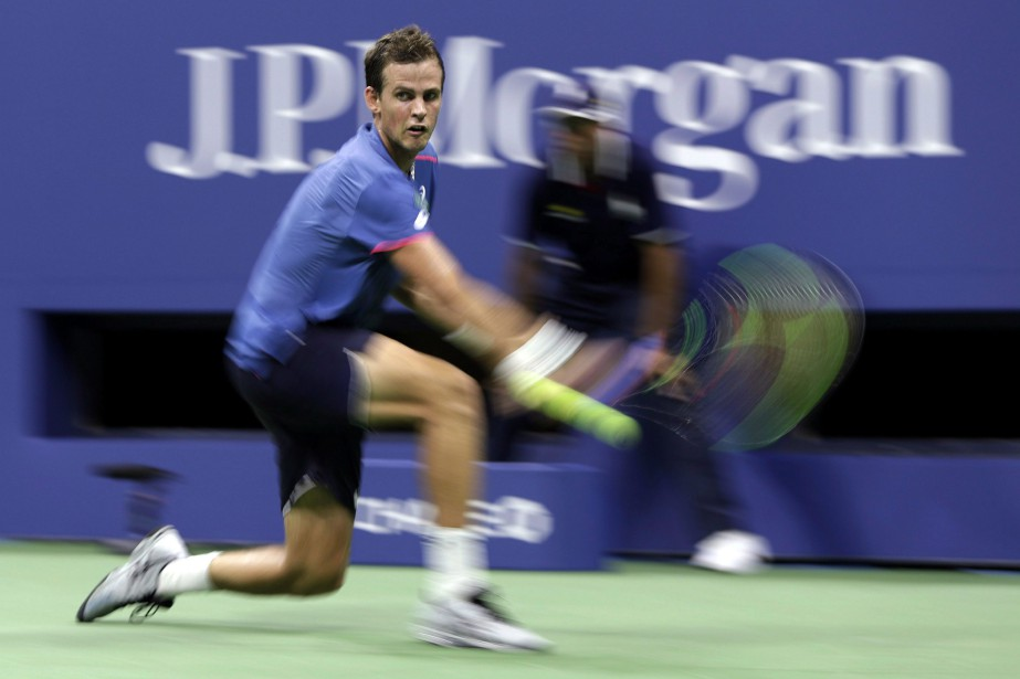 Vasek Pospisil... (Photo Julio Cortez, archives ASSOCIATED PRESS)