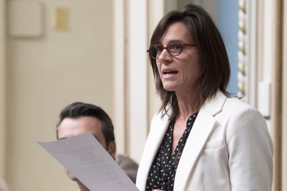 La ministre déléguée à l'Éducation, Isabelle Charest.... (Photo Jacques Boissinot, archives La Presse canadienne)