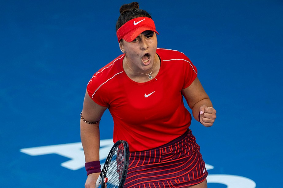 BiancaAndreescu fera face en finale à l'Allemande JuliaGoerges.... (Photo DAVIDROWLAND, Agence France-Presse)