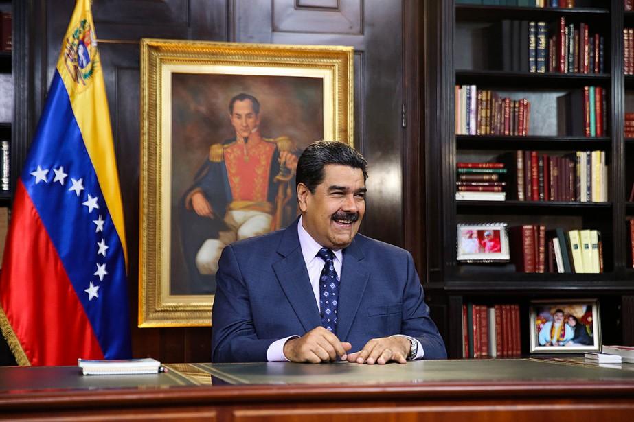 Nicolas Maduro a été réélu le 20mai pour... (Photo MARCELO GARCIA, archives Agence France-Presse)