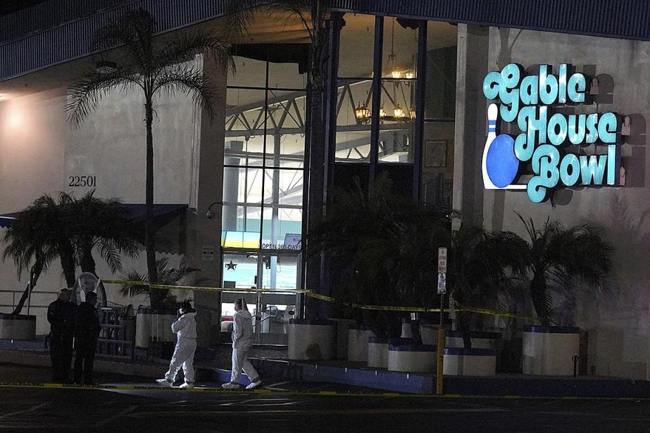 La police avait été informée peu avant minuit... (Photo Scott Varley, The Orange County Register via AP)