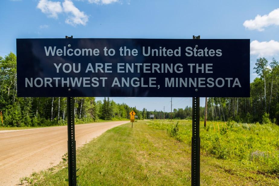 L'Angle du nord-ouest est une parcelle de terre,... (Photo Wikimédia Commons)
