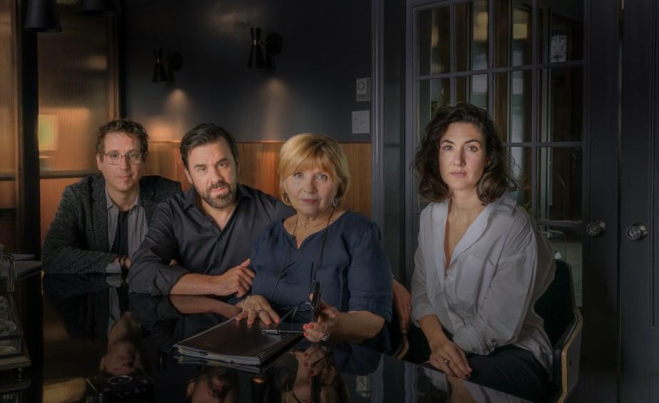 Benoit Mauffette, Bruno Marcil, Danièle Lorain et Karine... (Photo fournie par la production)