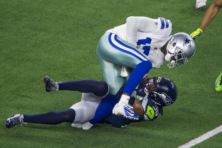 Allen Hurns (17) des Cowboys de Dallas et... (Photo Jerome Miron, USA TODAY Sports)