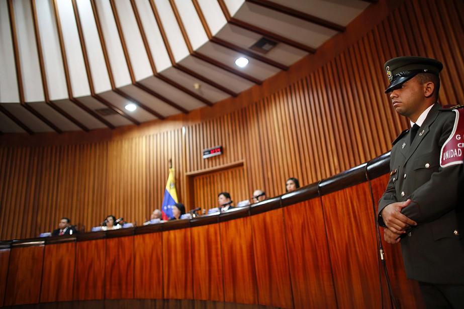 La Cour suprême du Venezuela... (Photo JORGE SILVA, archives REUTERS)