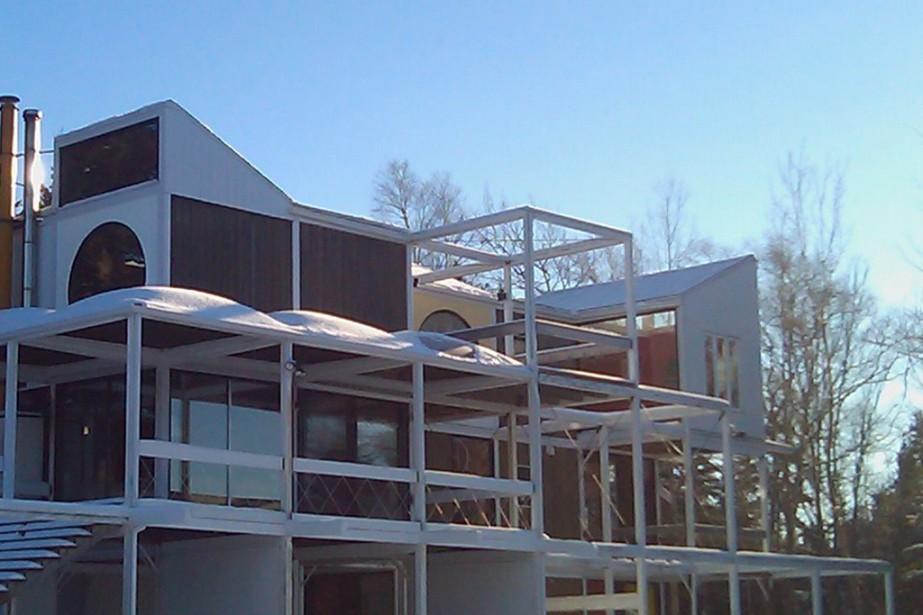 La résidence au style quasi futuriste a été... (Photo fournie par le propriétaire)