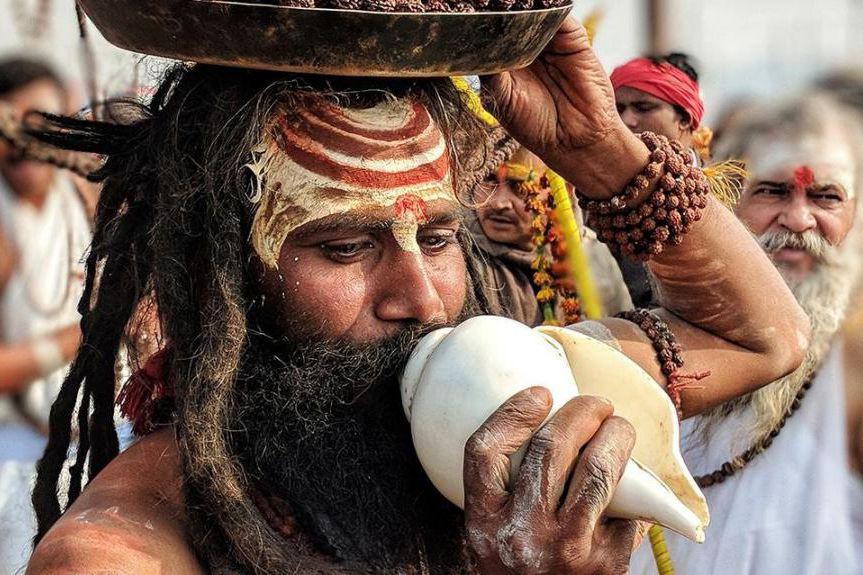 Un «demi Kumbh Mela» se tiendra cet hiver... (PHOTO FOURNIE PAR LE COMITÉ ORGANISATEUR DU KUMBH MELA 2019)