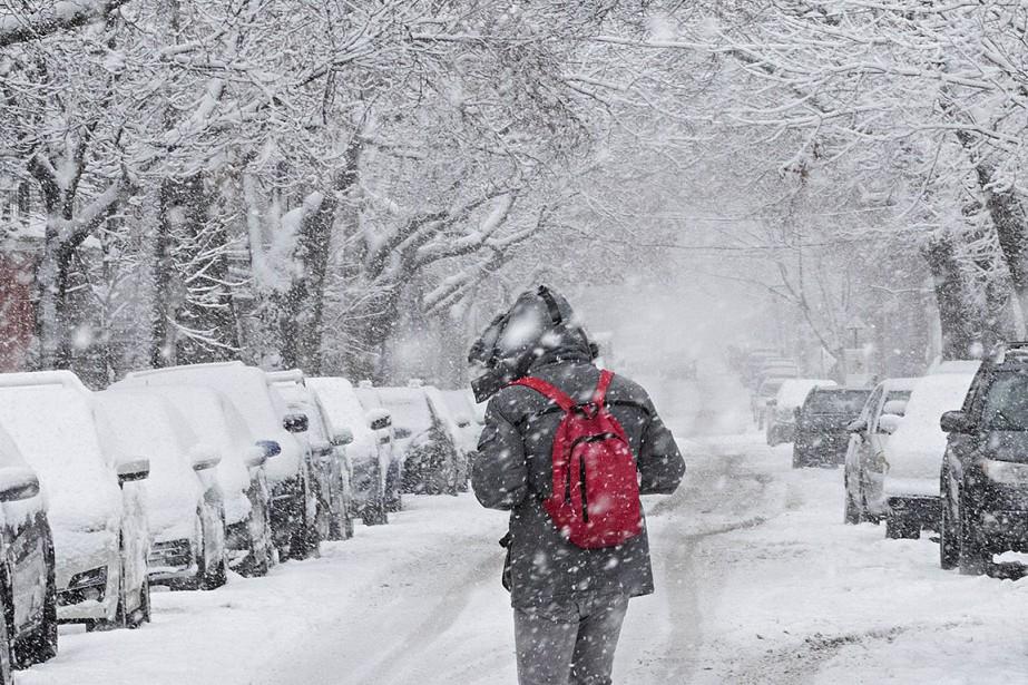Les météorologues prévoyaient hier qu'un... (PATRICK SANFAÇON, LA PRESSE)