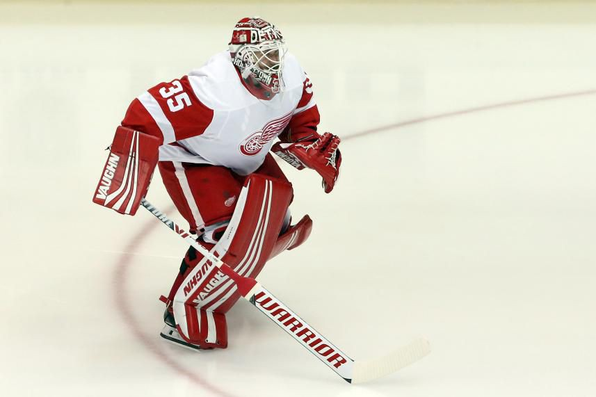 Jimmy Howard... (Photo Charles LeClaire, USA TODAY Sports)