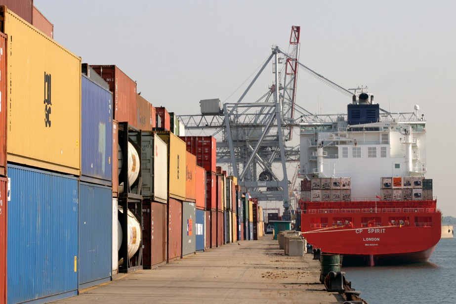 Le déficit commercial de marchandises du Canada avec... (Photo Stéphane Champagne, COLLABORATION SPECIALE)