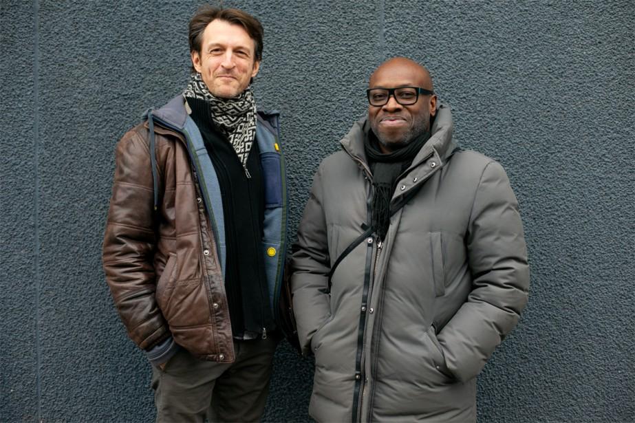 Stéphane Crête et Didier Lucien... (PHOTO DAVID BOILY, LA PRESSE)