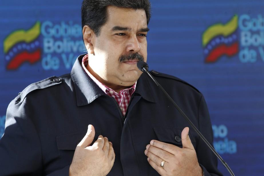 Les relations entre les États-Unis et le Venezuela... (Photo Ariana Cubillos, AP)