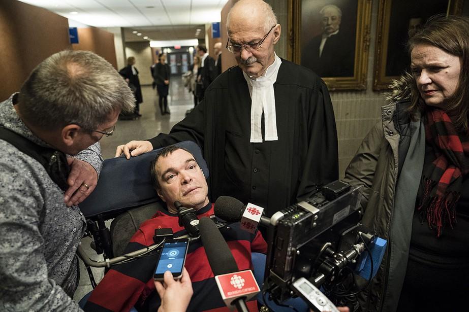 Jean Truchon, 51 ans, dit être mort le... (Photo EDOUARD PLANTE-FRÉCHETTE, La Presse)