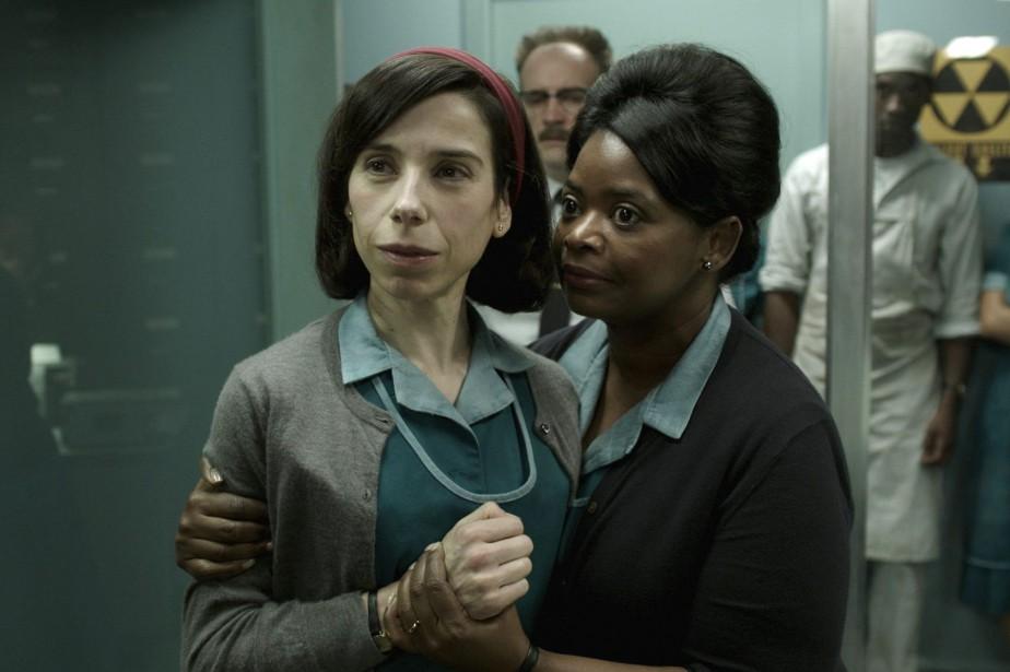 Sally Hawkins et Octavia Spencer dans The Shape... (Photo founrie par Fox Searchlight Pictures)