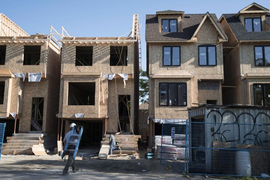 L'Association canadienne de l'immeuble a indiqué s'attendre à... (Photo GRAEME ROY, archives la presse canadienne)