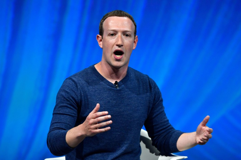 Mark Zuckerberg mènera des débats avec des spécialistes,... (Photo GERARD JULIEN, archives AFP)