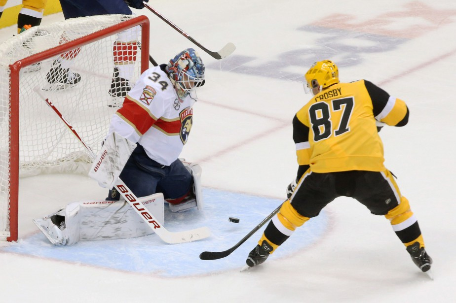 Sidney Crosby a réussi un 20e but et les Penguins de... (PHOTO REUTERS)