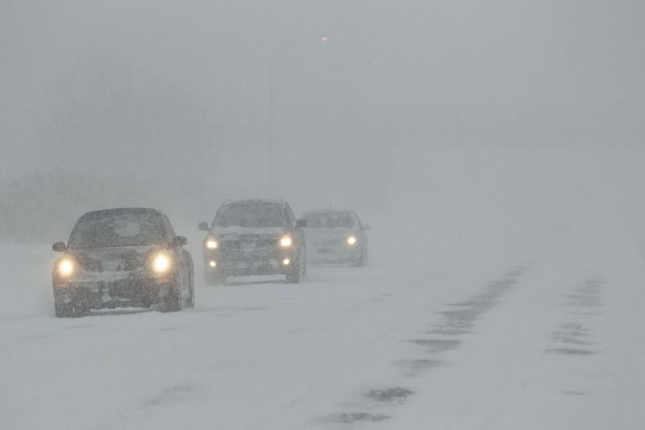 Un avertissement de tempête... (Photo Hugo-Sebastien AUBERT, archives La Presse)