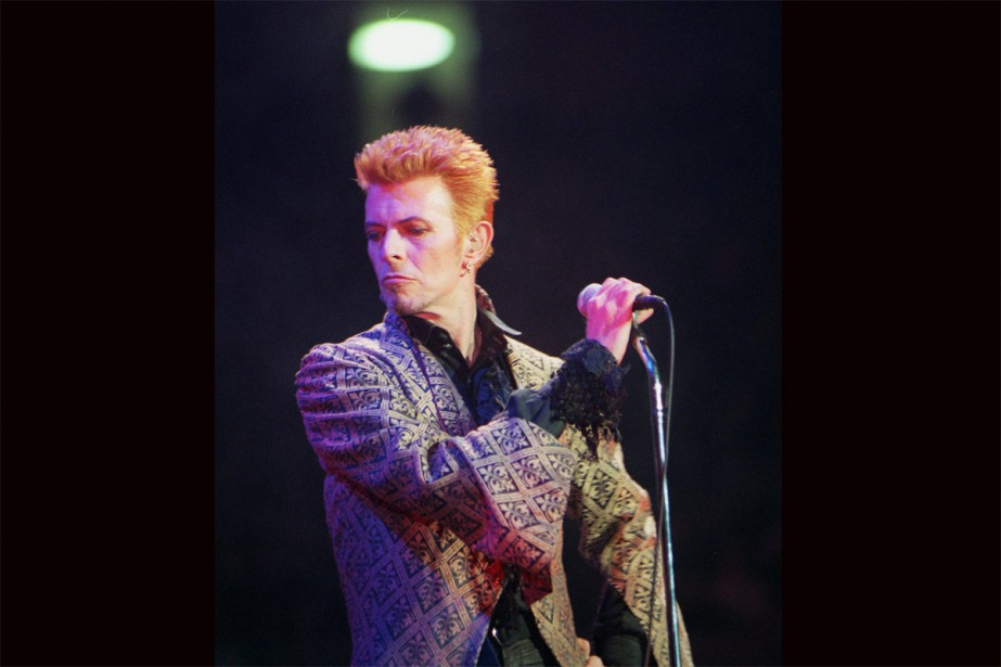 David Bowie... (photo archives associated press)