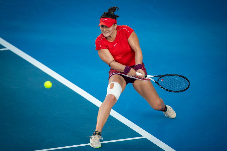 Bianca Andreescu... (Photo DAVID ROWLAND, archives AFP)